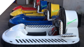 Hovercrafts in different colors for sale
