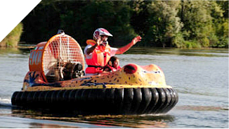 bufo hovercraft on the lake - no hands